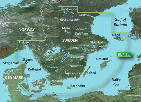 BlueChart g2 Vision Chip Large VEU711L-Sweden South