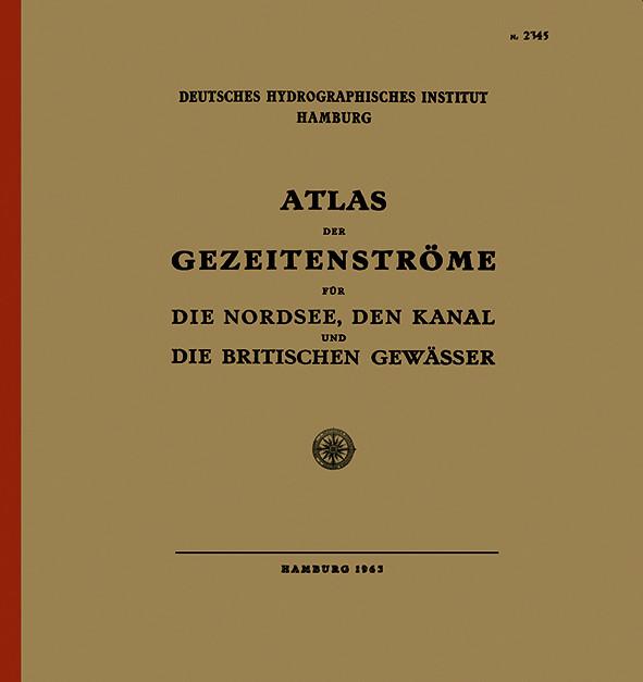 Atlas der Gezeitenströme für die Nordsee, den Kanal und die britischen Gewässer