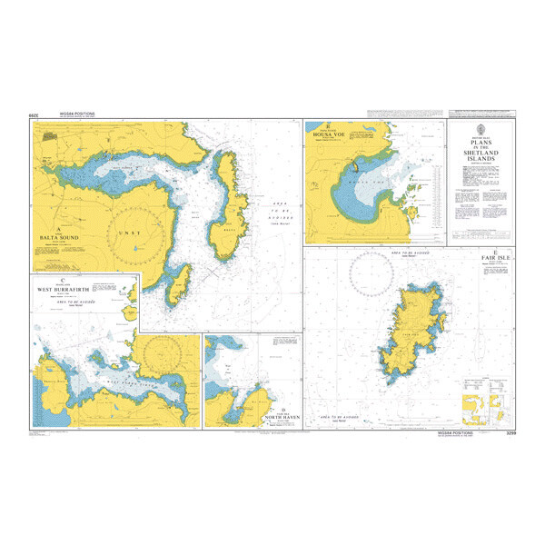 Plans in the Shetland Islands. UKHO3299