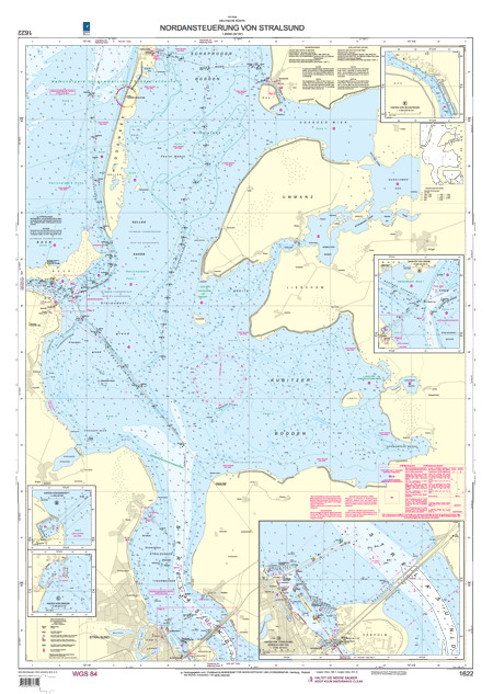 BSH 1622 Nordansteuerung von Stralsund
