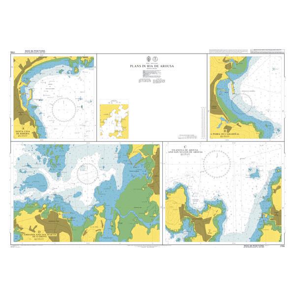 Plans in Ria de Arousa. UKHO1755