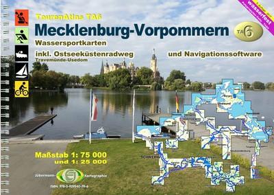 TourenAtlas TA6: Mecklenburg-Vorpommern
