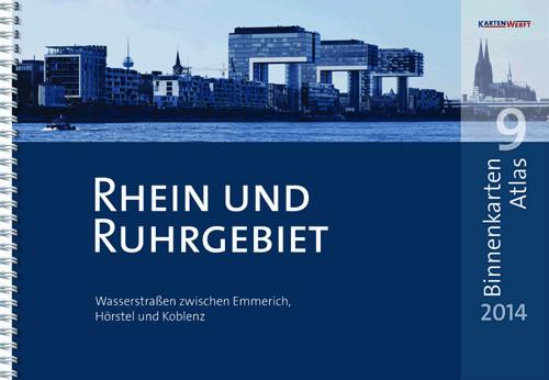 Binnenkarten Atlas 9 - Rhein und Ruhrgebiet