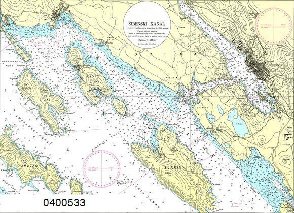 CRO 533 / Sibenski Kanal