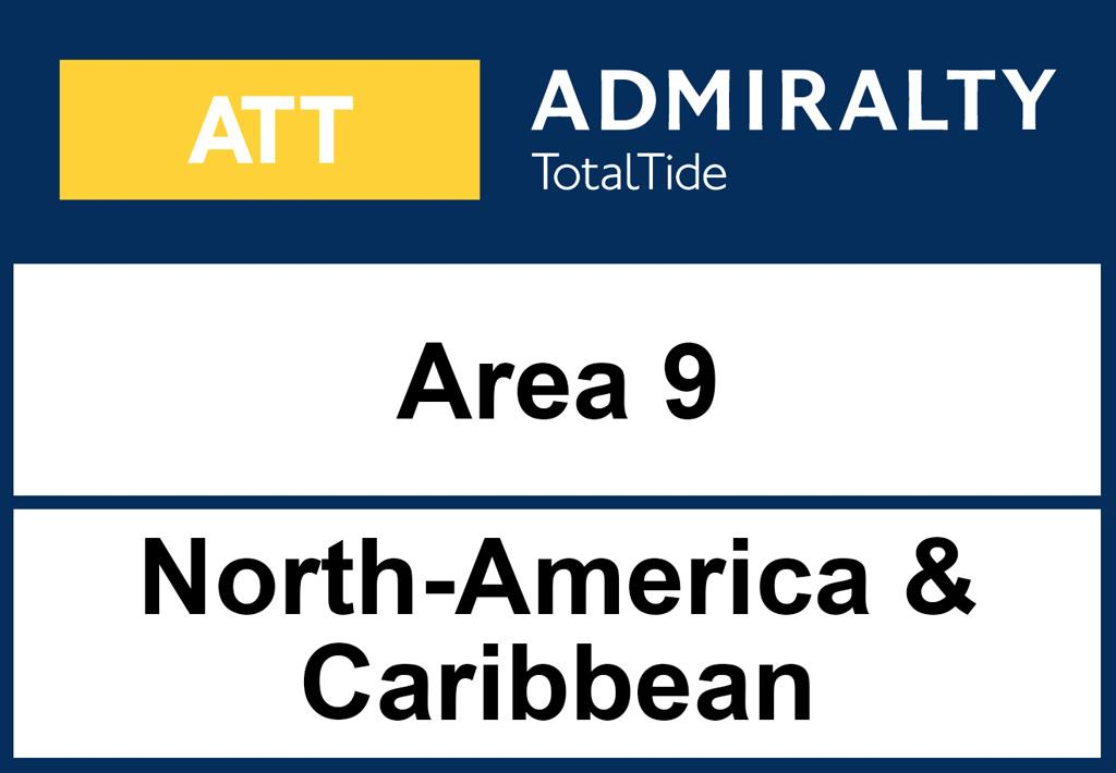 ADMIRALTY TotalTide Area 9 North Amercia (Eastcoast) and Caribbean