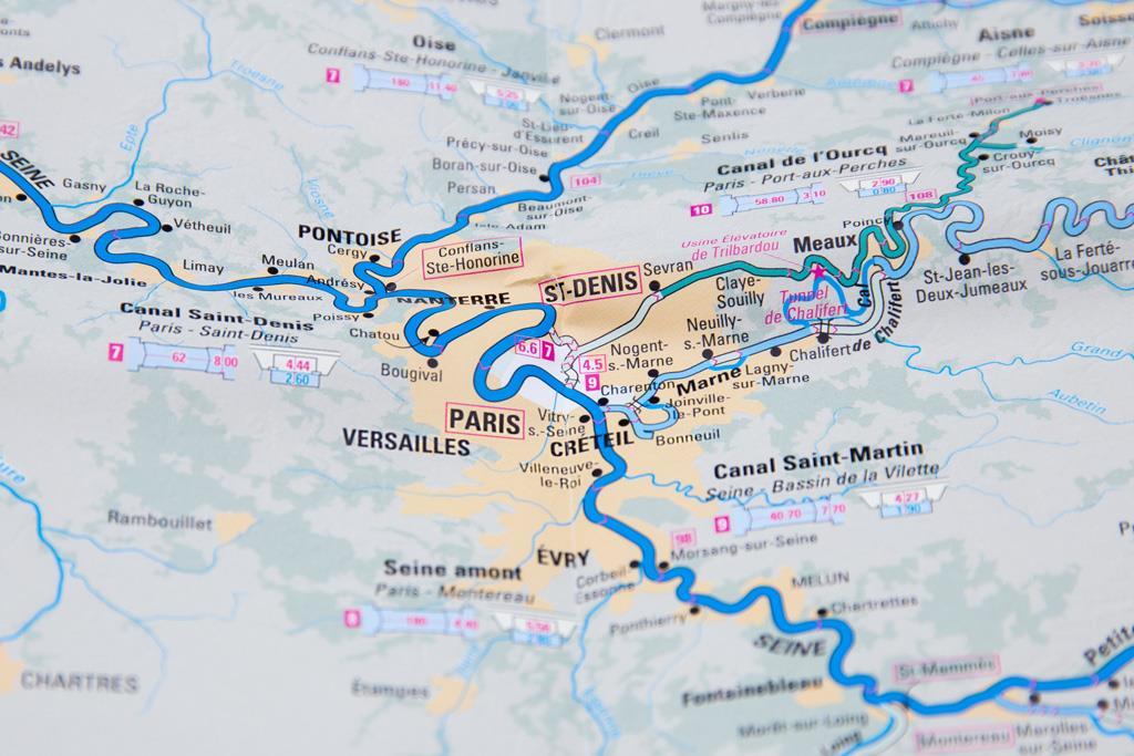 Les voies navigables de France