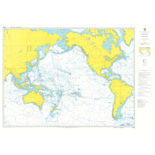 A Planning Chart for the Pacific Ocean. UKHO4002