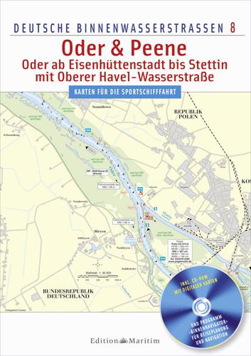 Oder & Peene - Deutsche Binnenwasserstraßen 8 mit CD