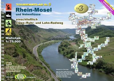 TourenAtlasTA3: Mosel-Rhein-Ruhr
