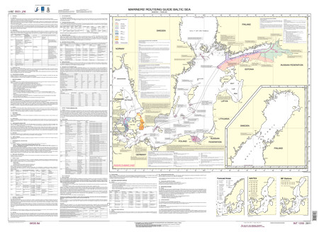 BSH 2911 Mariners' Routeing Guide Baltic Sea