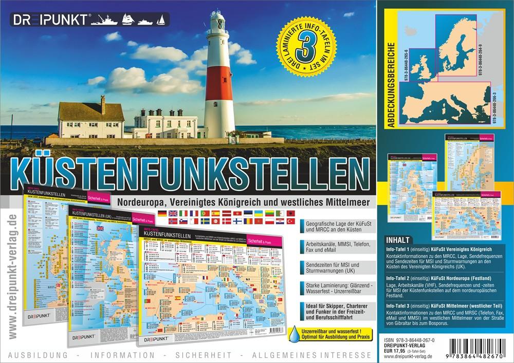 Küstenfunkstellen (Set DIN A4)