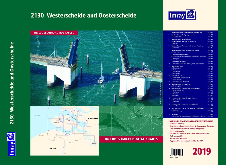 IMRAY Atlas 2130 Wester- & Oosterschelde