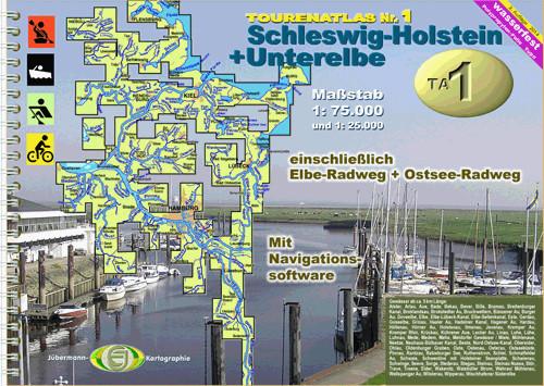 TourenAtlas TA1: Schleswig-Holstein + Unterelbe