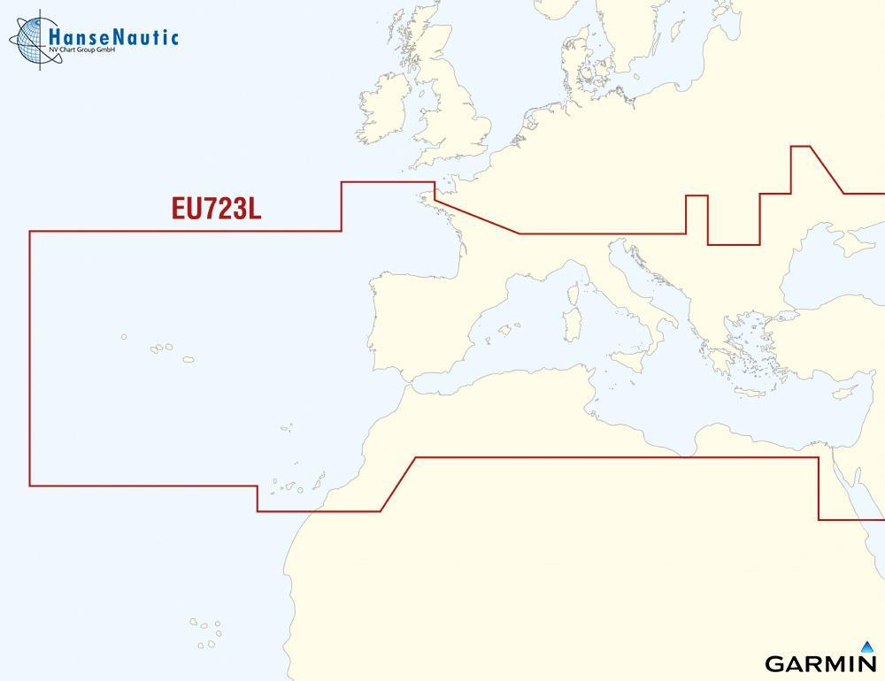 BlueChart Mittelmeer Südeuropa (Southern Europe) g3Vision VEU723L