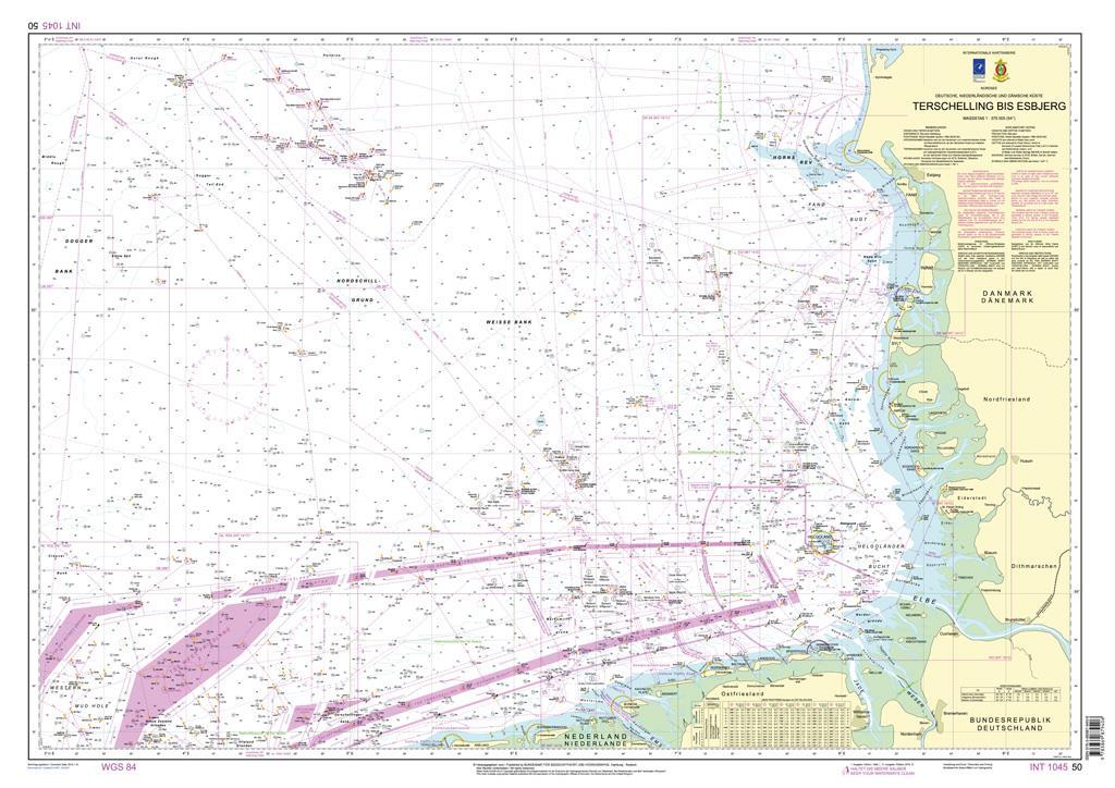 DE50 Nordsee von Terschelling bis Esbjerg