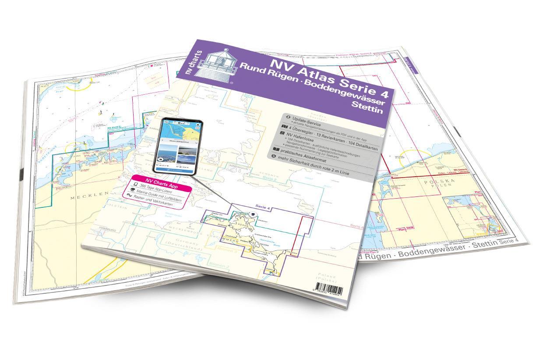 NV Atlas Kartenkoffer Ostsee Serie 1, 2, 3, 4