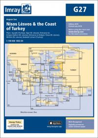 IMRAY CHART G27 Nísos Lésvos & the Coast of Turkey