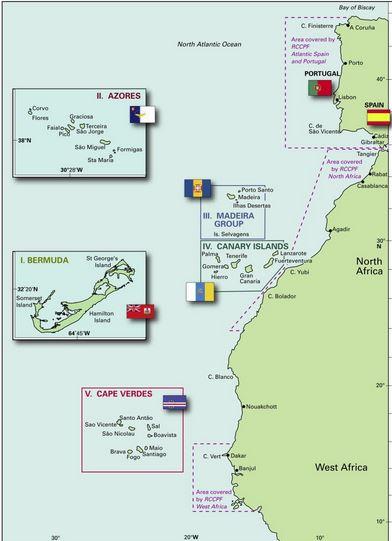 Revierführer Atlantic Islands