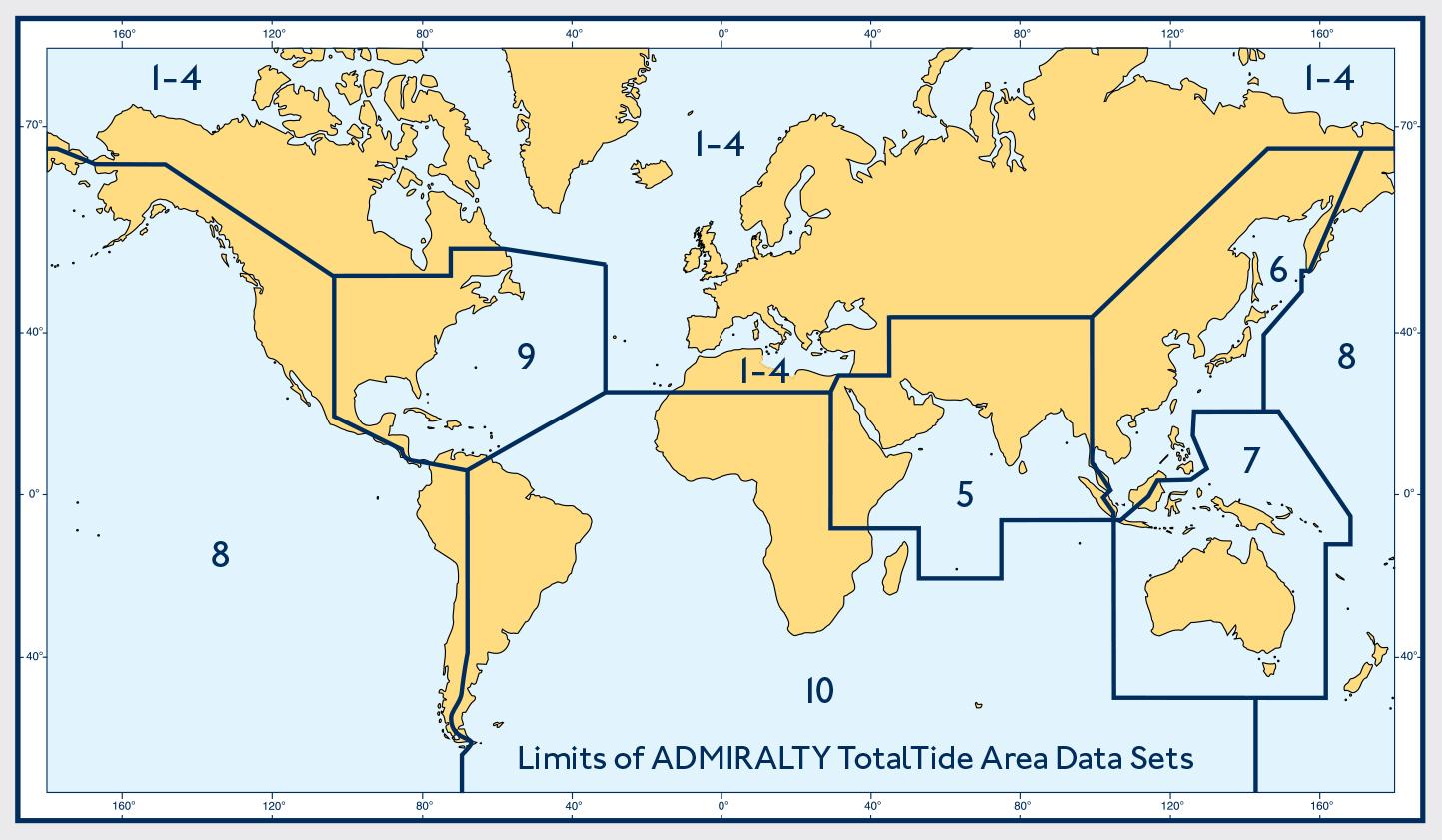 ADMIRALTY TotalTide Abeckung weltweit