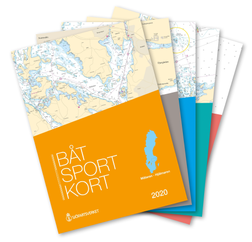 Schwedische Sportbootkartensätze