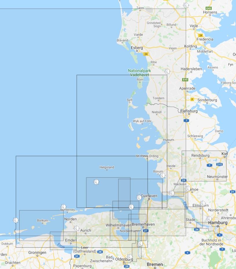 Seekarten des BSH als Print-on-Demand bei HanseNautic
