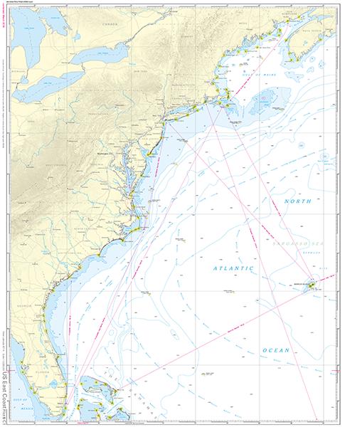 NV. Pilot 6, US East Coast, Maine to Caribbean • Bermuda ...