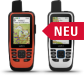 Hier sehen Sie ein Bild von den neuen GPSMAP Hangeräten