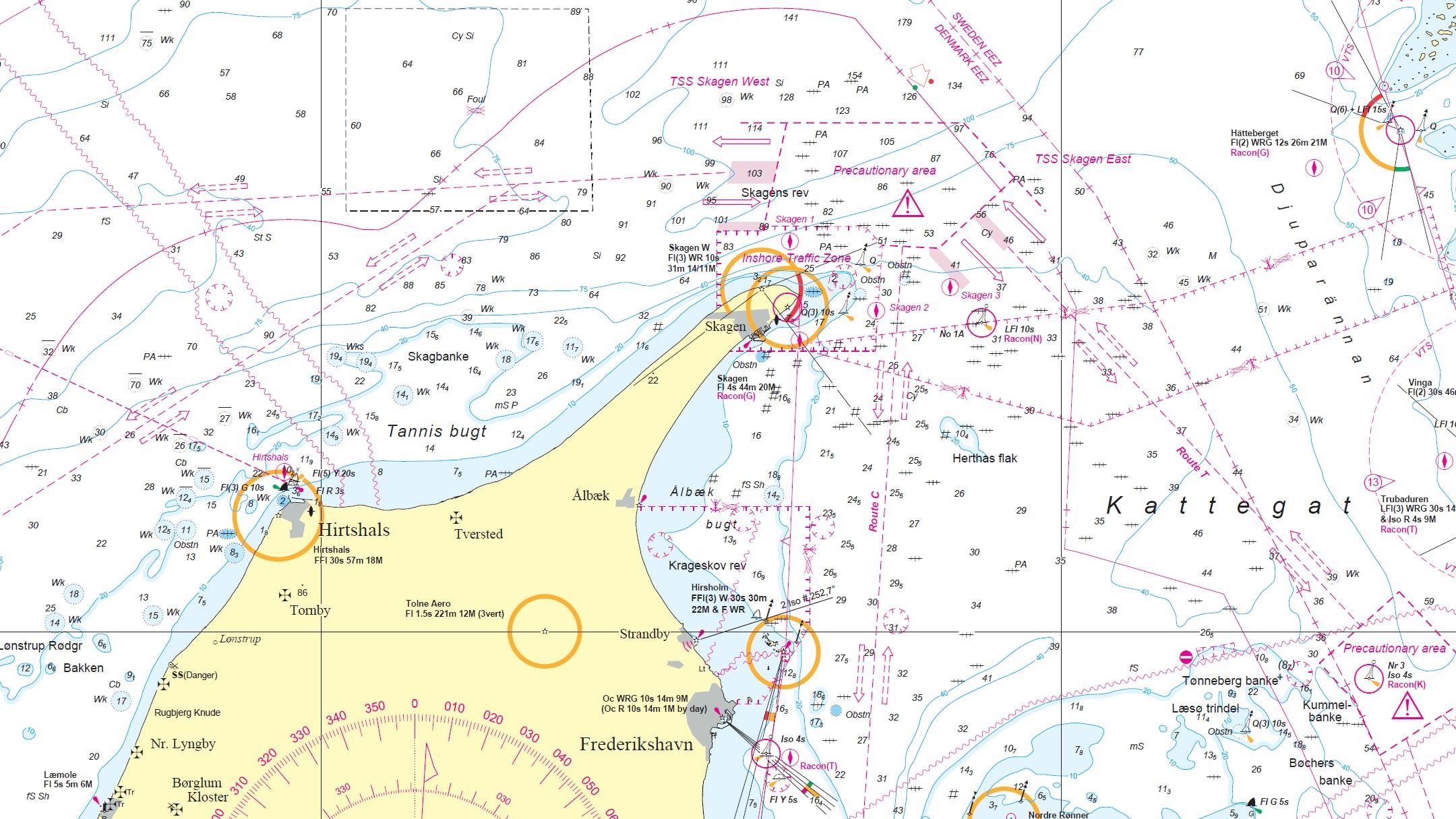 neue TSS bei Skagen in der N305
