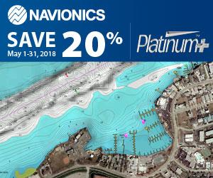 Navionics Platinum+ Karten 20% günster im Mai 2018 - exklusiv im HanseNautic Onlineshop