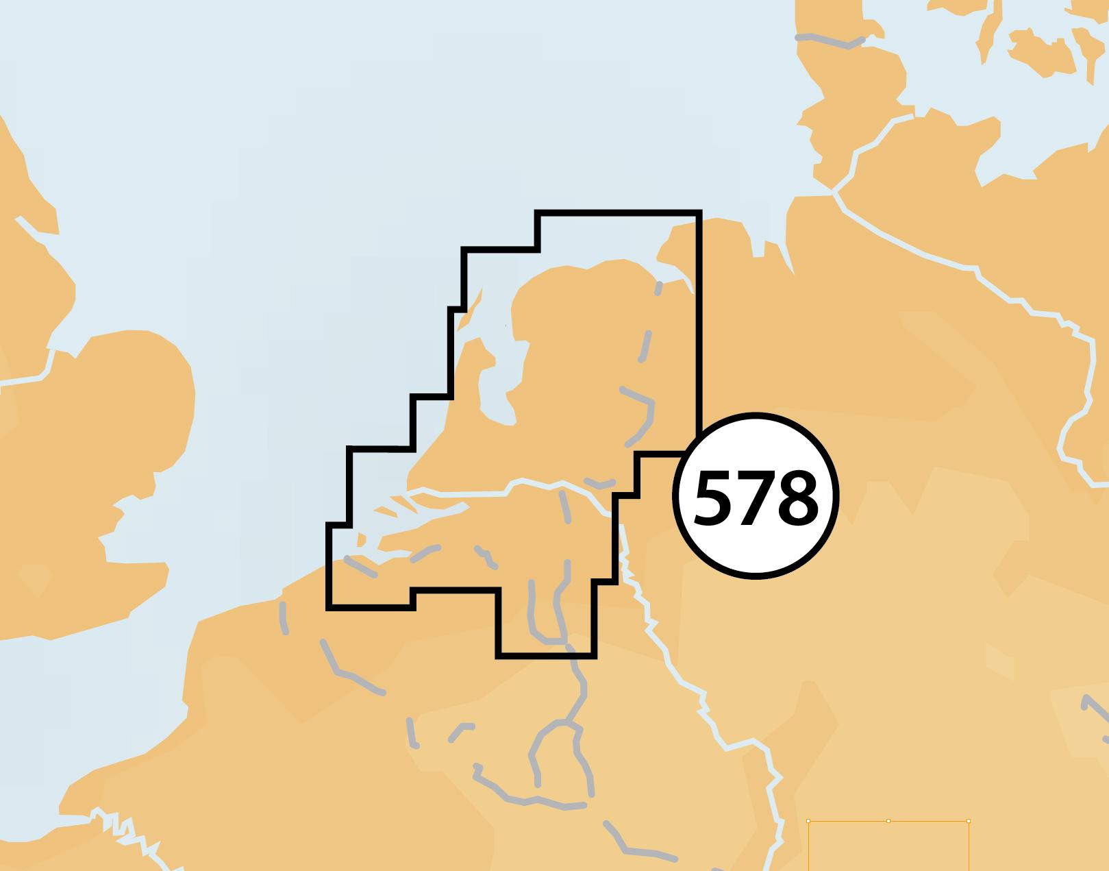 Neue Navionics+ Small Abdeckung für die niederländischen Binnengewässer