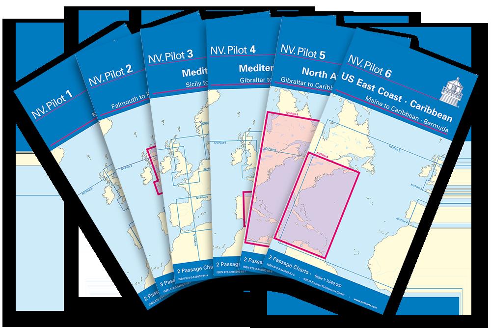 Lotsenkarten für die Passageplanung - jetzt bei HanseNautic ausrüsten