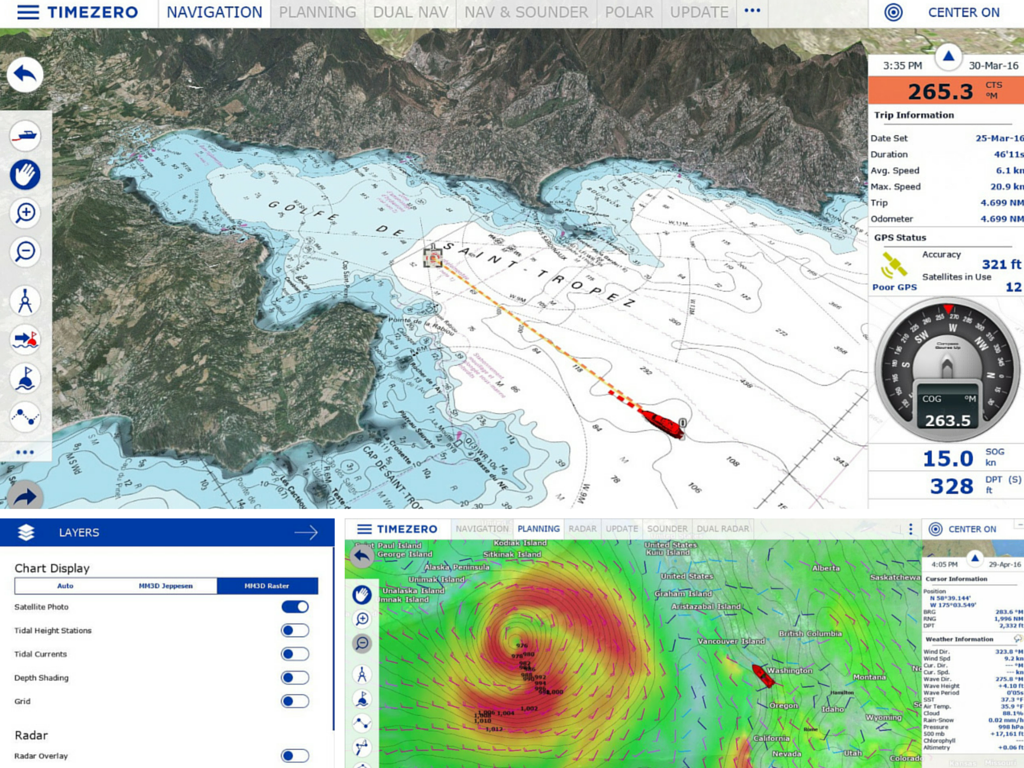 TZ Navigator v3 - screenshot