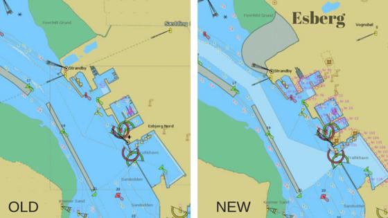 Hafen von Esbjerg in der mm3d Darstellung