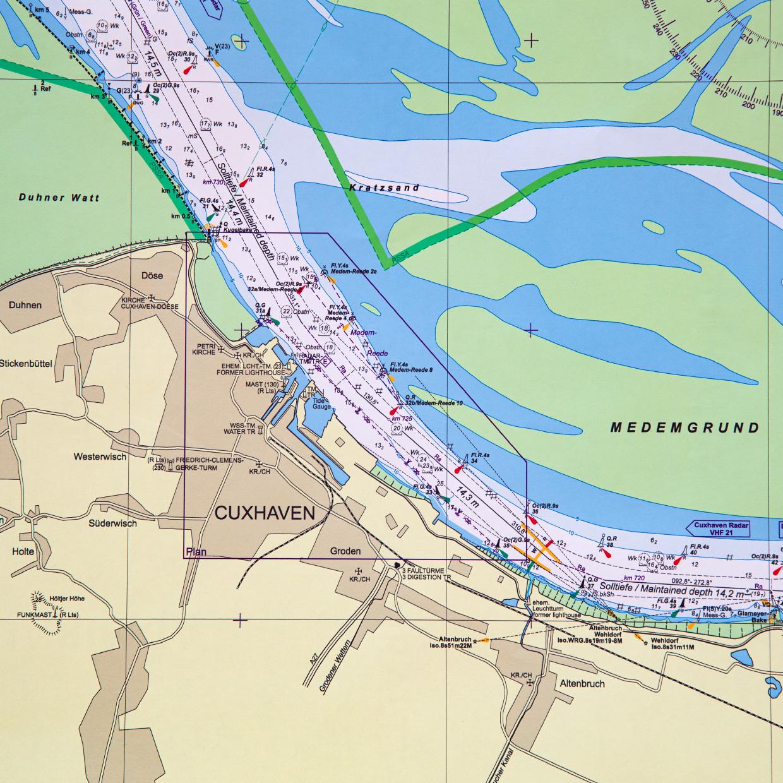 Erscheinungsbild BSH Nordsee POD
