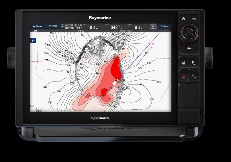 Raymarine: Navionics SonarCharts Live
