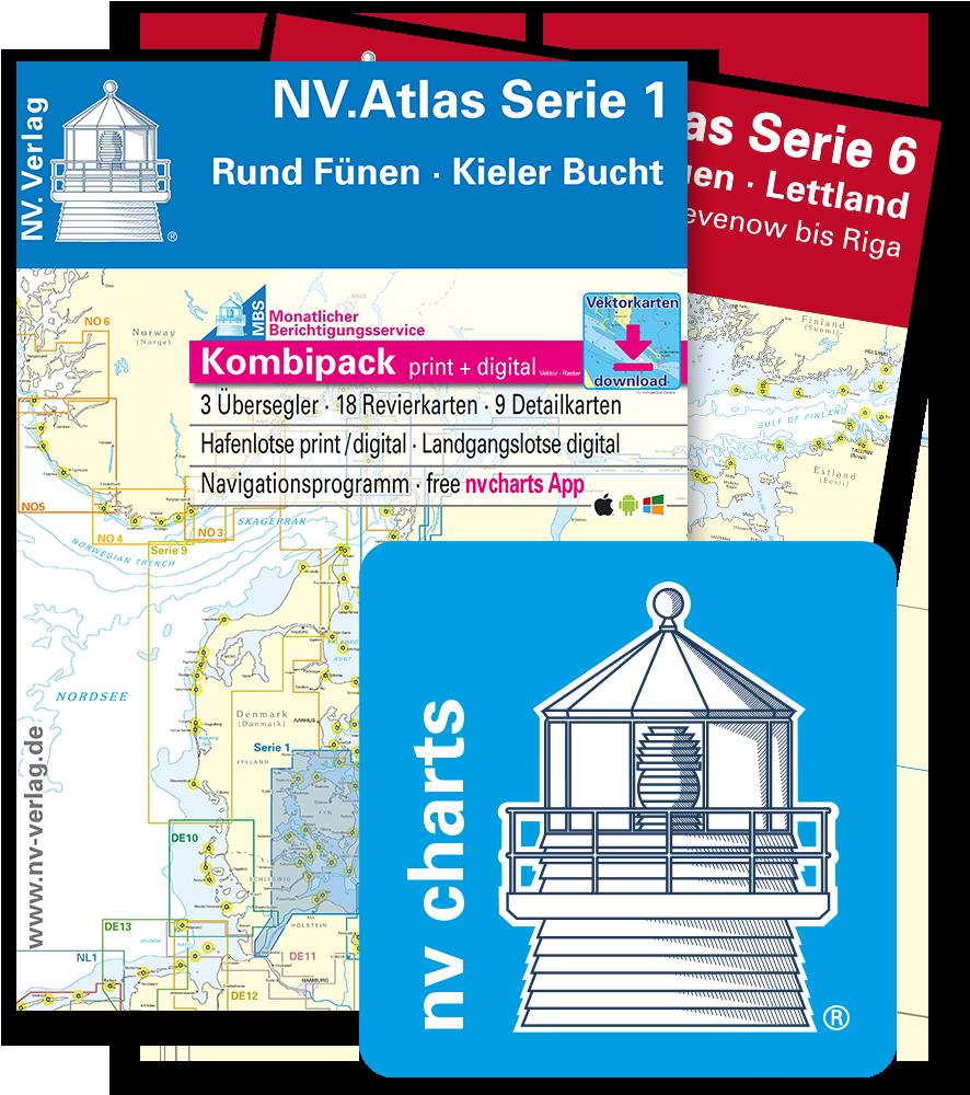 N.V.-Sportschifffahrtskarten