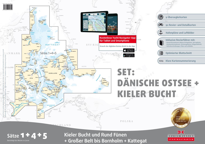Delius Klasing-Sportbootkartensätze