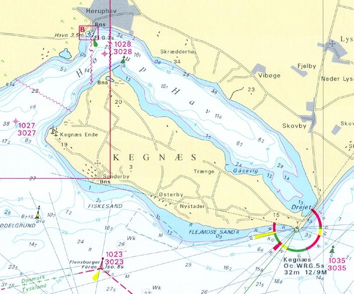 Delius Klasing-Sportbootkarten für die Ostsee