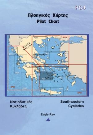 Griechische Sportbootkarten Eagle Ray