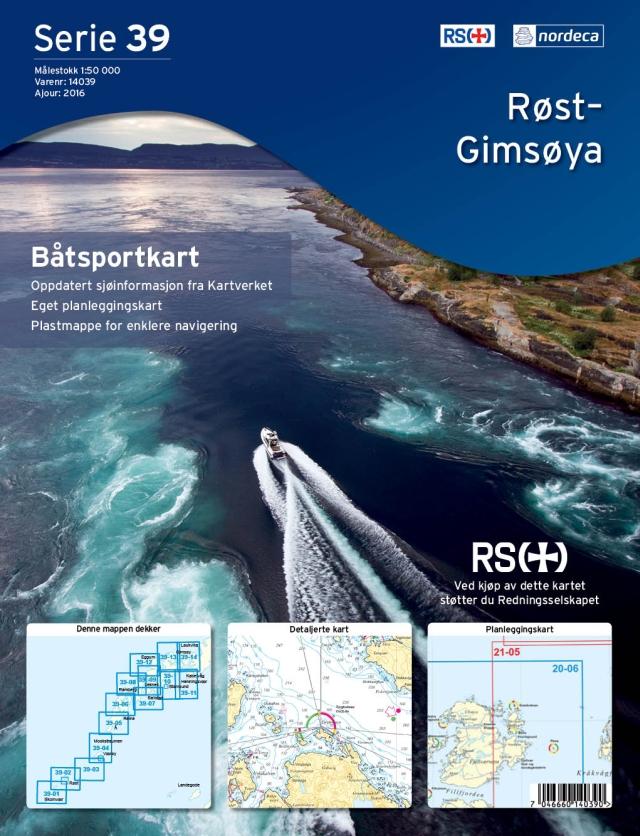 Norwegische Båtsportkart