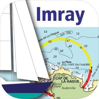 Free Imray charts for mobile download