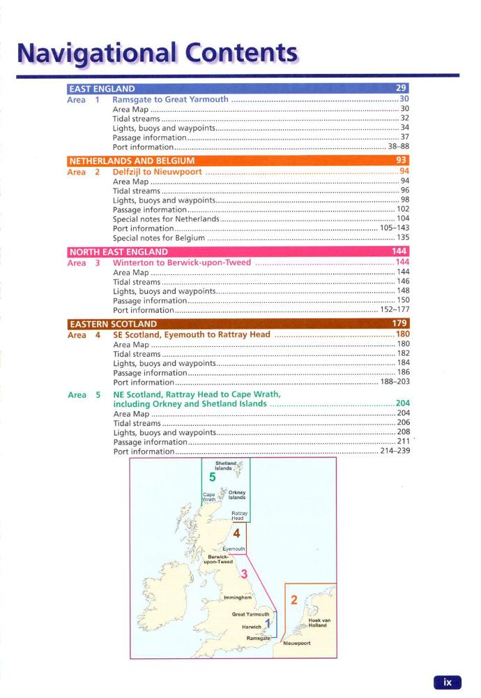 Inhalt Reeds Eastern Almanac 2021